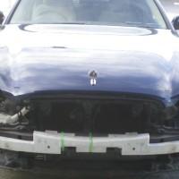 ニッサンシーマ フロント修理塗装