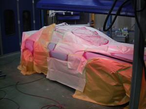 RX-8イタズラ傷修理